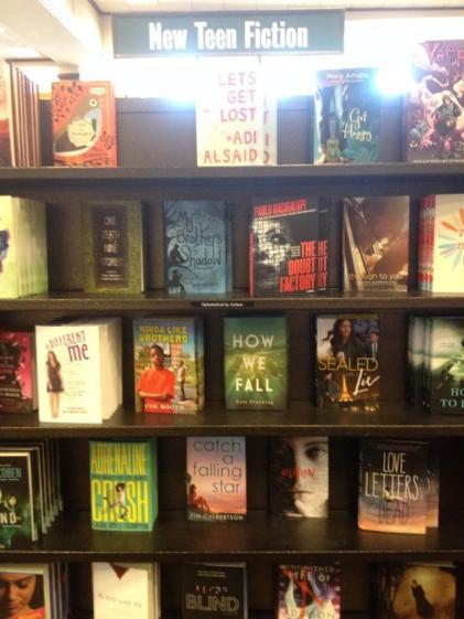 HWF on shelves