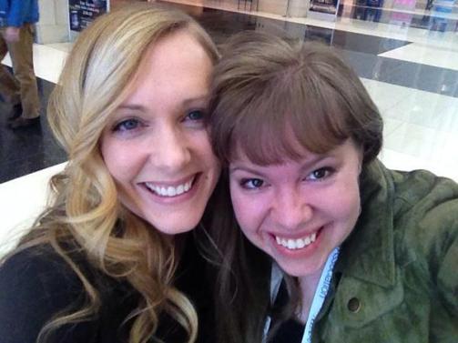 Kate and Nicole